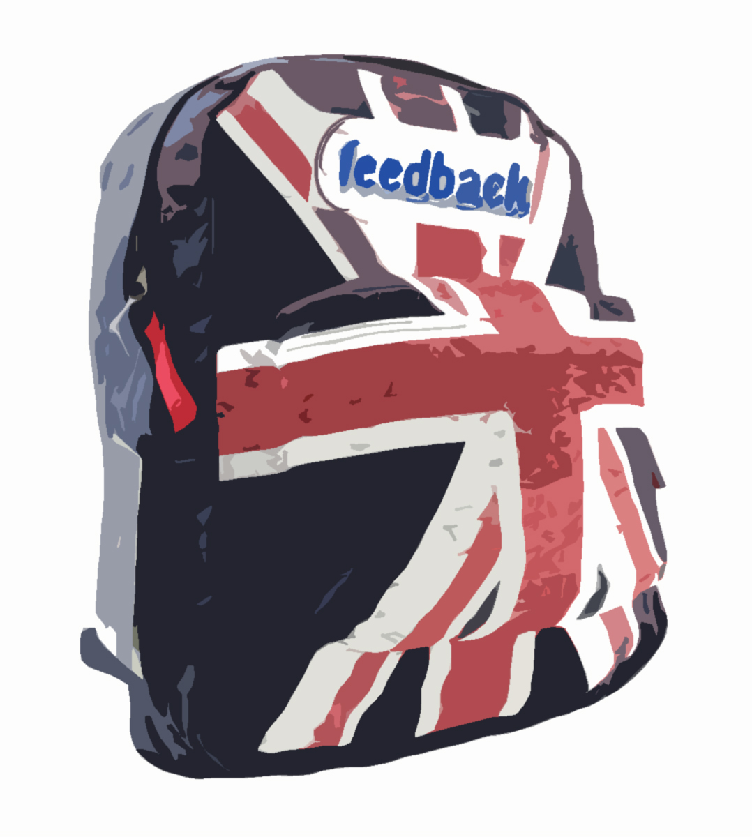 backpack union jack copia